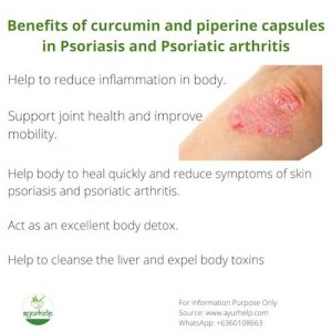 6 Top Curcumin Piperine Capsules for Psoriasis and Psoriatic Arthritis