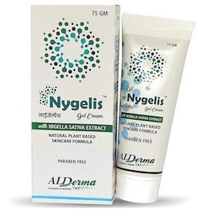 ALDAN Nygelis Gel Cream for Psoriasis with Nigella Sativa Extract (Enriched with Shea Butter)